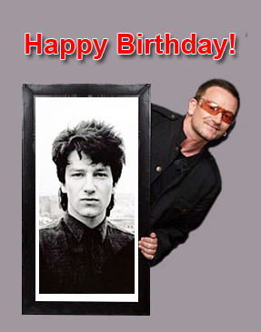 Bono happy birthday
