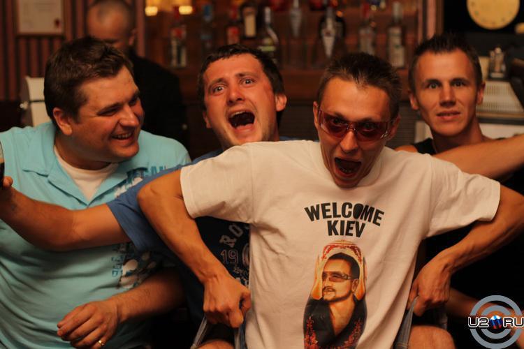 U2 Cover Show in Kiev 18-19.06.2011
